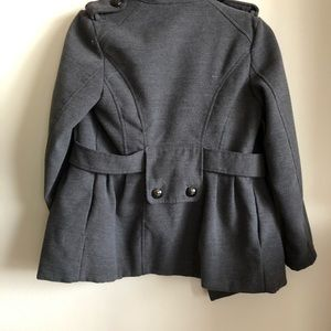 Hydraulic Jackets & Coats - Gray winter jacket